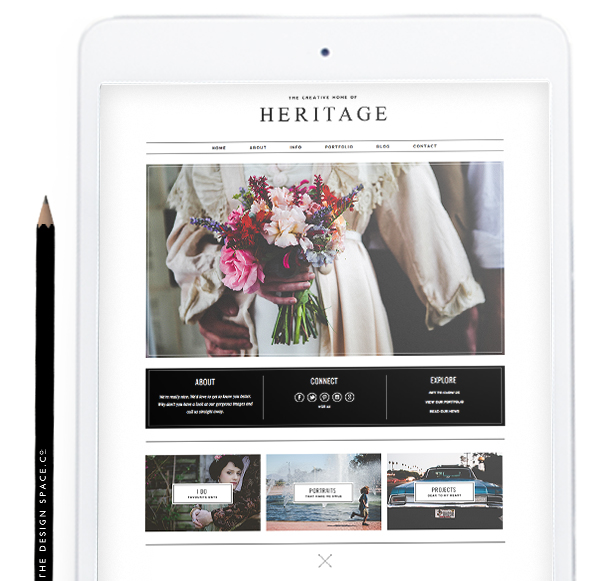 Sites slide the design for Design space co
