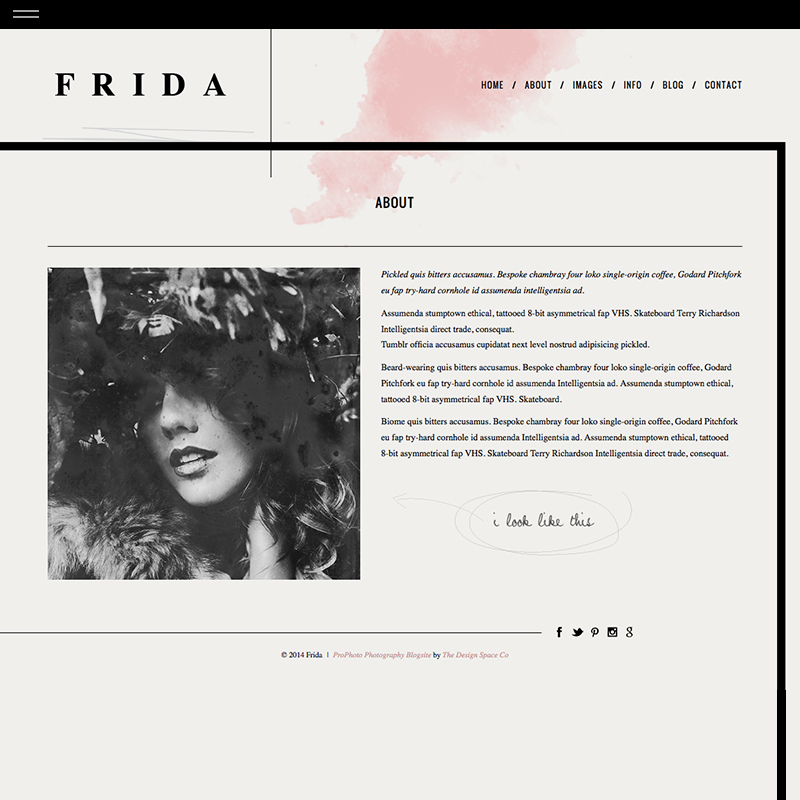 Frida about full the design for Design space co