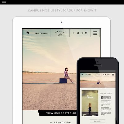 Campus-Mobile-Product-Template