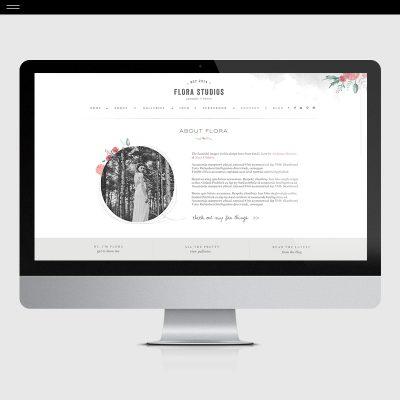 Flora-Product-Showit-About