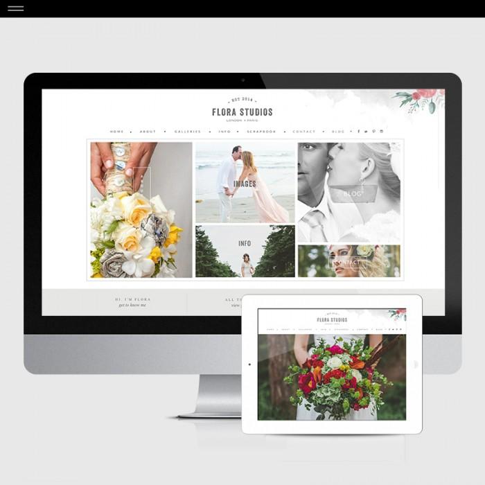 Flora-Product-Showit-Home