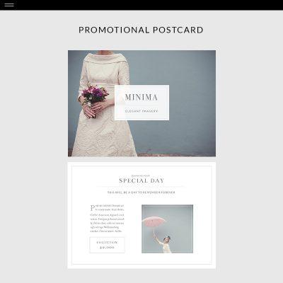 Minima-Product-Postcard