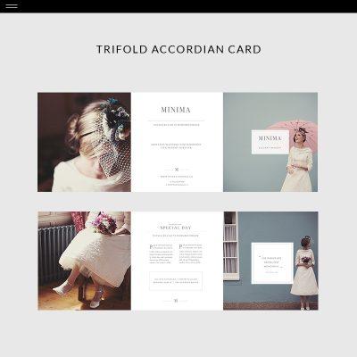 Minima-Product-Trifold-Card