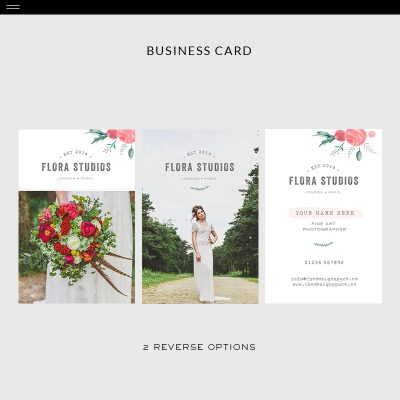 Flora-Product-Bus-Card