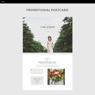 Flora-Product-Postcard