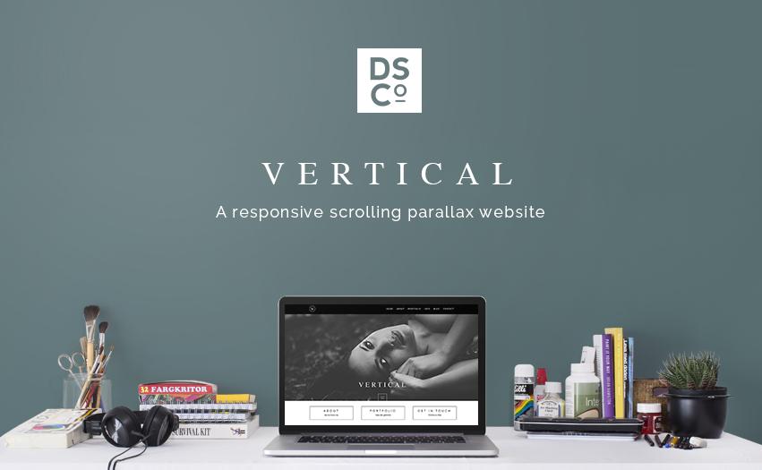 INTRODUCING VERTICAL – A PARALLAX SCROLLING WORDPRESS DESIGN