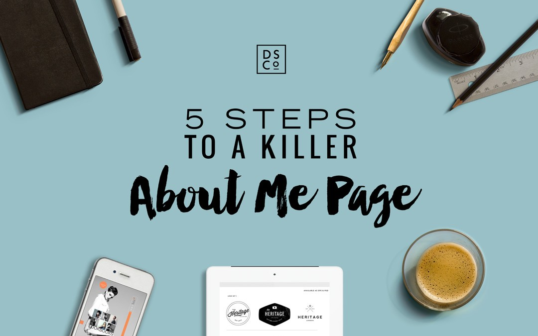 5 STEPS TO A KILLER ABOUT PAGE