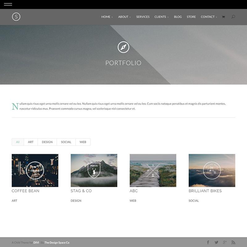 Solo product portfolio the design for Design space co