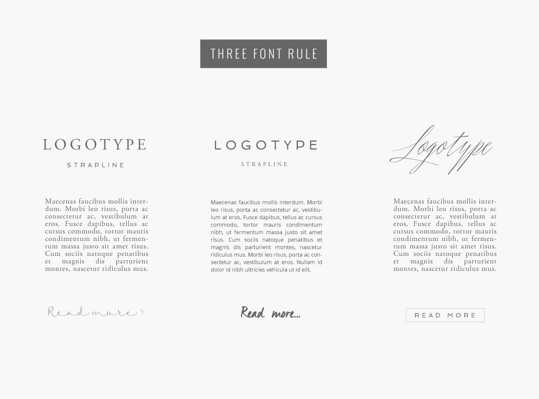 CHOOSING FONTS FOR YOUR DESIGN PROJECT