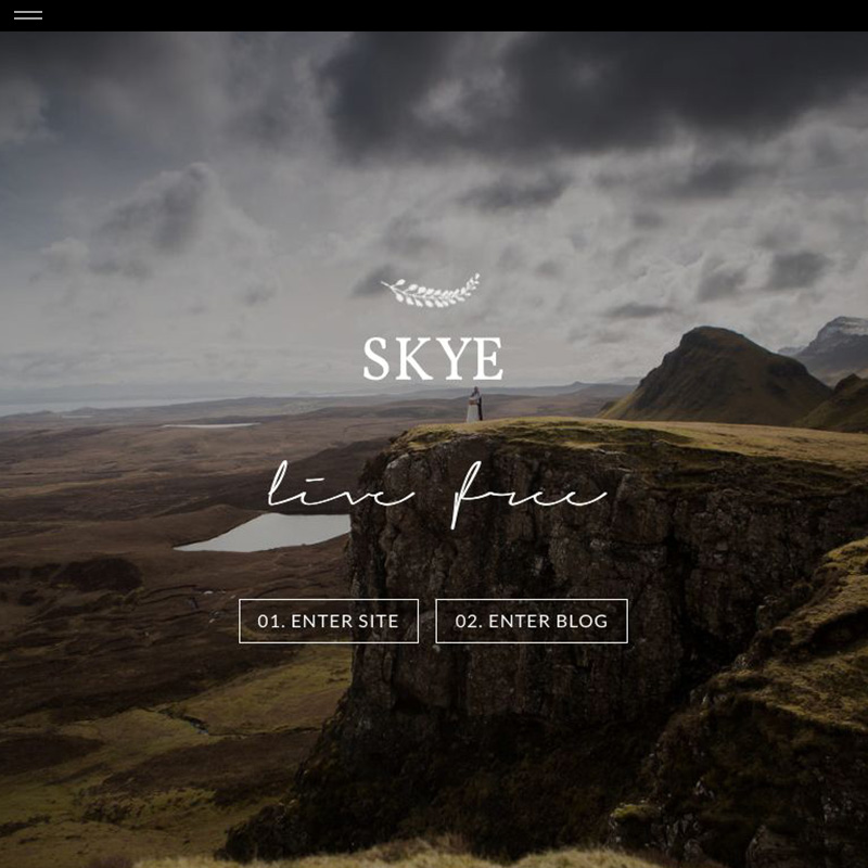 skye product splash the design