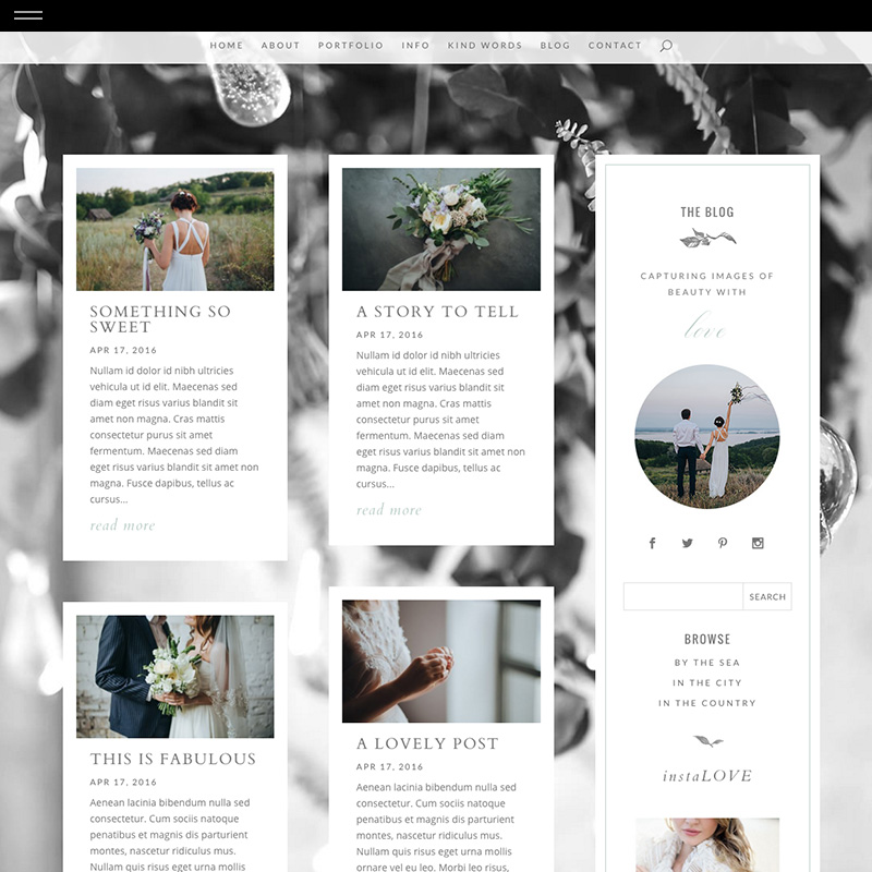 Ivy divi product blog the design for Design space co