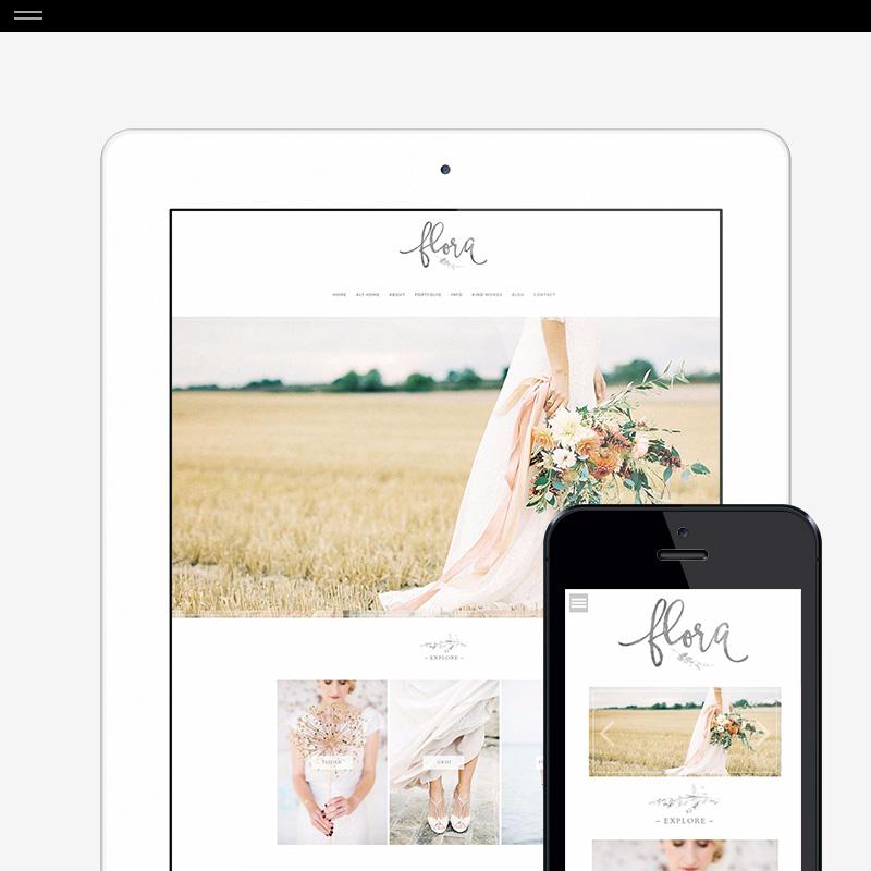 WordPress Design for ProPhoto6